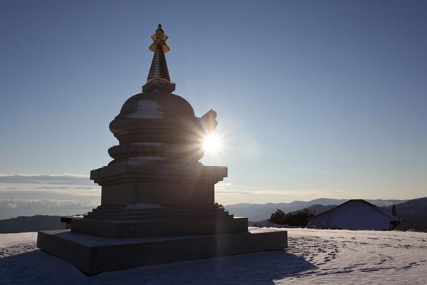 Kalachakra Stupa at Karma Berchen Ling