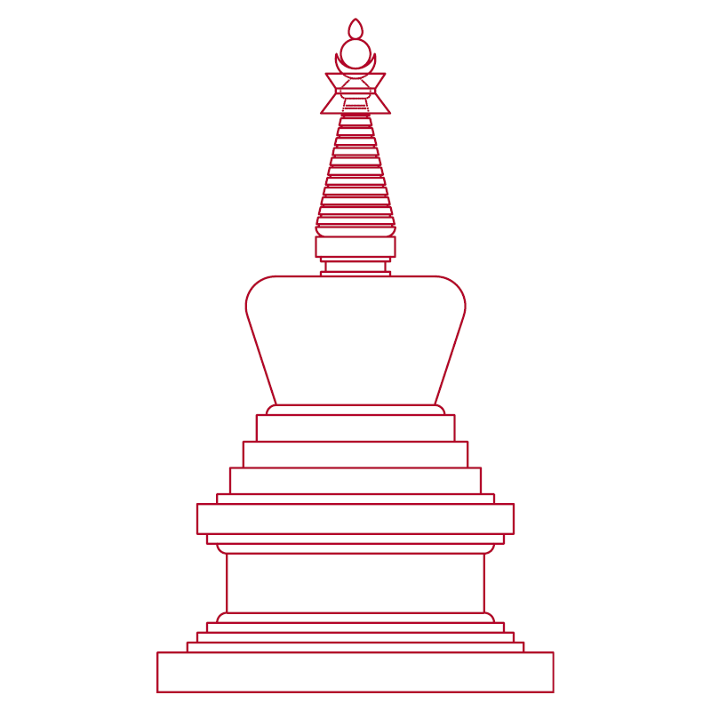 Stupa of complete victory