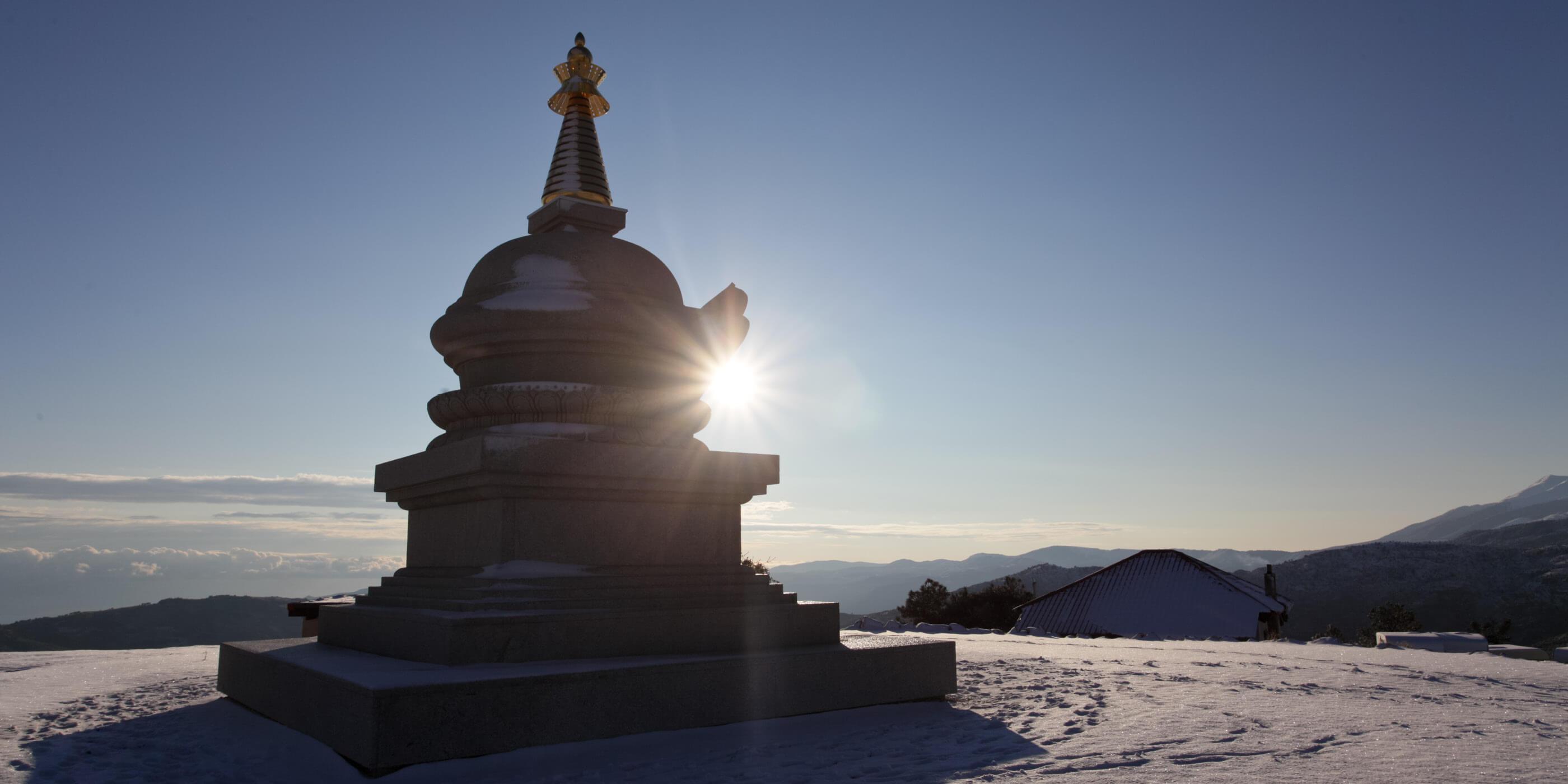Kalachakra Stupa in KBL