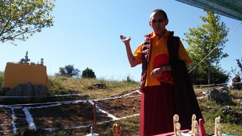 Lama Chogdrup Dorje at KBL
