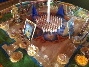 Tsuktor Trime Mandala detail