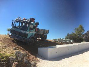 sliding truck