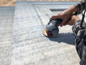 professionals for granite work arrived