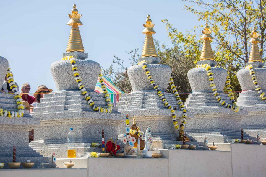 8 Stupas in KBL